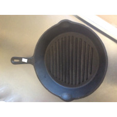 Gjutjärn grill stekpanna 25 cm