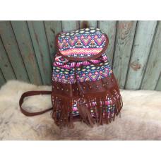 Ibiza väska/ryggsäck rosa