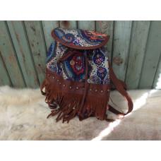 Ibiza väska/ryggsäck blå