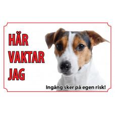 Hundskylt Jack Russel Terrier